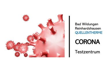 Bild zur News: Corona-Testzentrum in der QuellenTherme in Bad Wildungen-Reinhardshausen